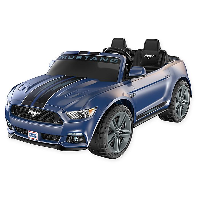 Alternate image 1 for Fisher-Price® Power Wheels® Smart Drive™ Mustang in Blue