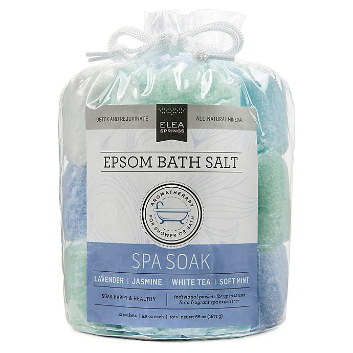 Alternate image 1 for Elea Springs Epsom Bath Salt Spa Soak Tote