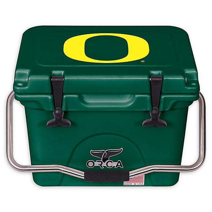 Alternate image 1 for University of Oregon 20 qt. ORCA Cooler