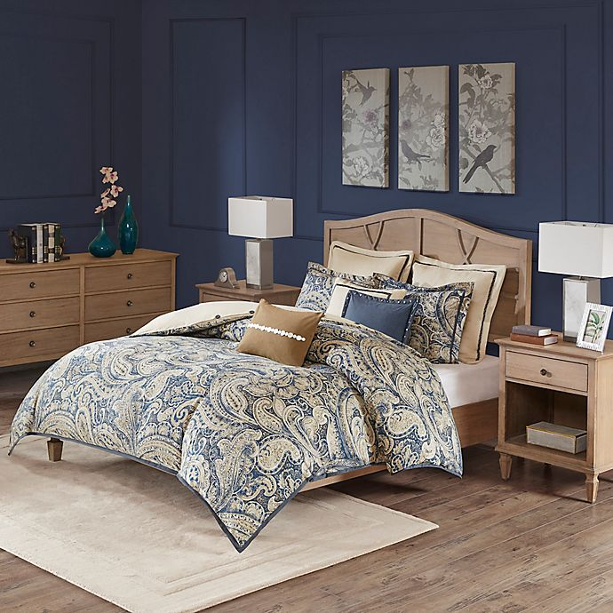 Alternate image 1 for Hampton Hill Urban Chic Queen Comforter Set in Navy