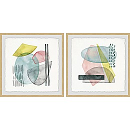 Marmont Hill Sushi Bowl Framed Diptych Wall Art