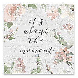 The Moment 18-Inch Square Canvas Wall Art