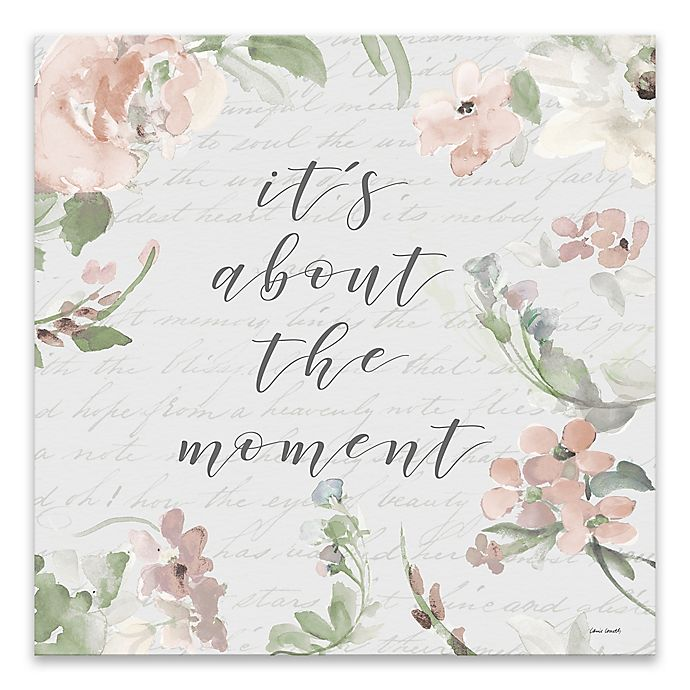 Alternate image 1 for The Moment 18-Inch Square Canvas Wall Art