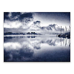 Indigo Sunset 30-Inch x 40-Inch Canvas Wall Art