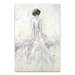 Pretty in Pink Hues 36-Inch x 24-Inch Canvas Wall Art