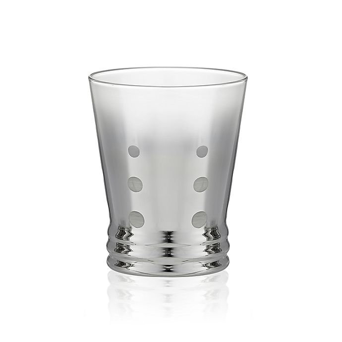 Alternate image 1 for Artland® Roxanne Double Old Fashioned Glasses in Silver (Set of 4)