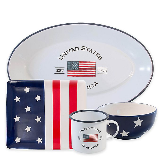 Alternate image 1 for Boston International Patriotic Serveware Collection