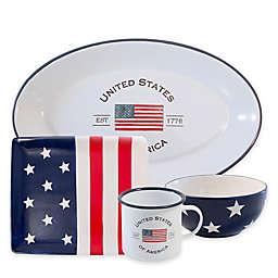 Boston International Patriotic Serveware Collection