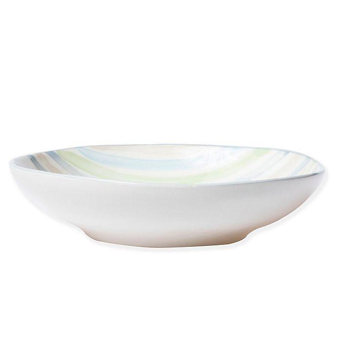 Alternate image 1 for viva by VIETRI Stripe Pasta Bowl
