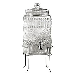 Fifth Avenue Crystal Bradford Beverage Dispenser