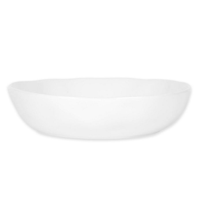 Alternate image 1 for Everyday White® by Fitz and Floyd® Organic Shape Low Bowl in White