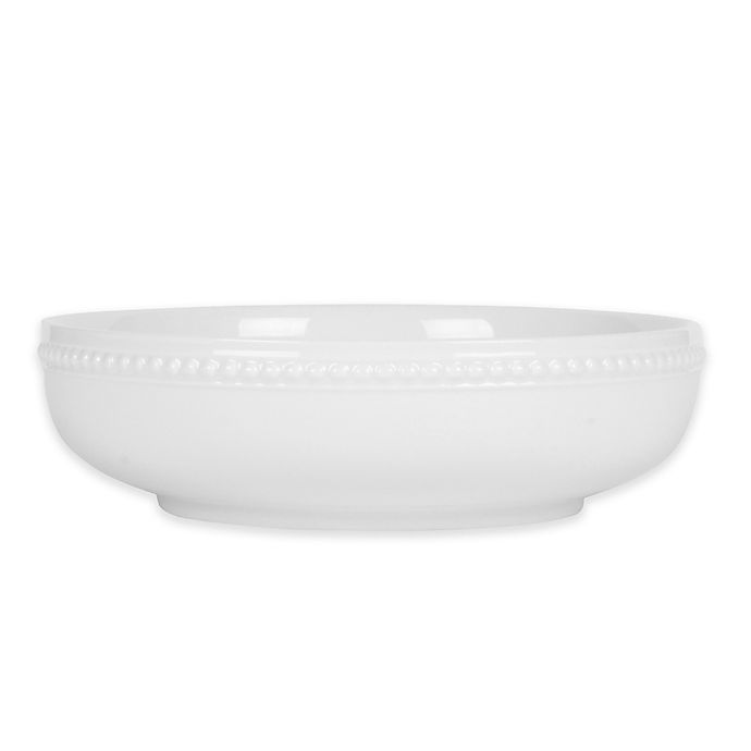 Alternate image 1 for Everyday White® by Fitz and Floyd® Beaded Dinner Bowl