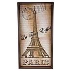 Paris Eiffel Tower Vertical Vanity Tray