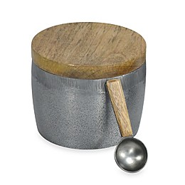 DKNY Pure Aluminum 2-Piece Jar with Spoon Set