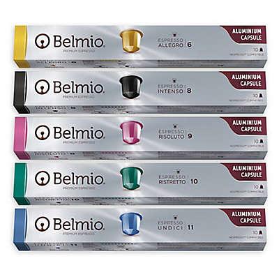 Belmio® 100-Pack Premium Aluminum Variety Pack Nespresso Capsules