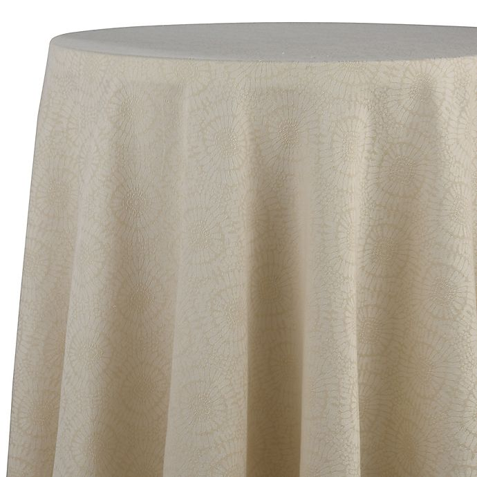 Ed Ellen Degeneres Marmont 70 Inch Round Tablecloth
