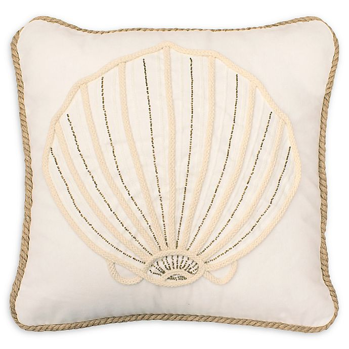 Alternate image 1 for Boho Living Arielle Decorative Pillow in Off White
