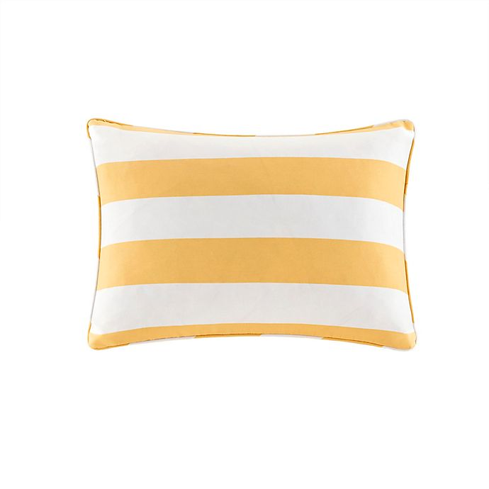 Alternate image 1 for Madison Park Percee Indoor/Outdoor Oblong Pillow