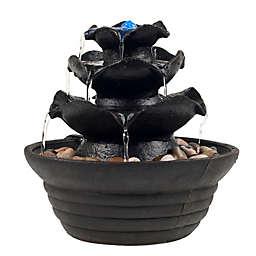 Garden Decor Fountains Outdoor Water