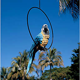 Design Toscano Polly in Paradise Parrot Sculpture
