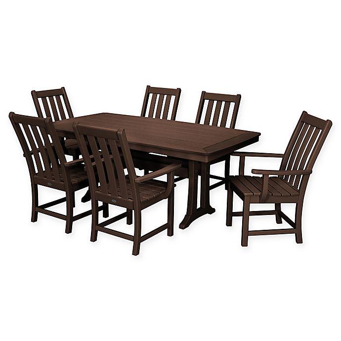 Alternate image 1 for POLYWOOD® Vineyard 7-Piece Patio Dining Set