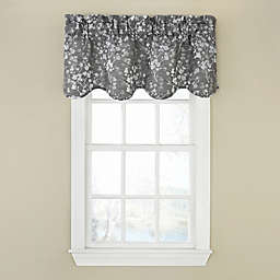 Dogwood Blossom Room Darkening Scalloped Valance
