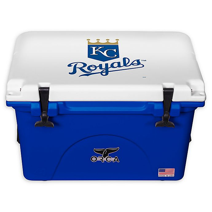Alternate image 1 for MLB Kansas City Royals 40 qt. ORCA Cooler