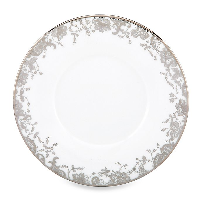 Alternate image 1 for Marchesa by Lenox® French Lace 5 3/4-Inch Can Saucer