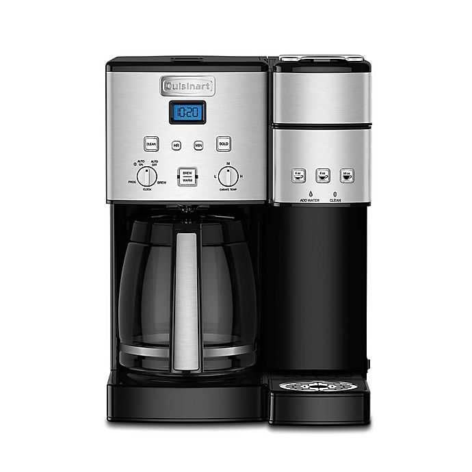 Alternate image 1 for Cuisinart® Coffee Center™ 12-Cup Coffee Maker and Single Serve Brewer