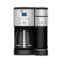 Cuisinart® Coffee Center™ Coffee Maker/Single Serve Brewer in Stainless Steel