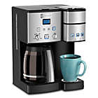 Alternate image 2 for Cuisinart�� Coffee Center��� 12-Cup Coffee Maker and Single Serve Brewer