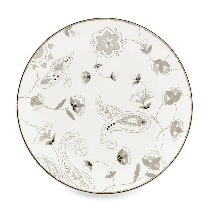 Alternate image 1 for Lenox® Paisley Terrace Accent Plate