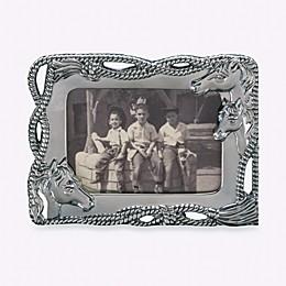Arthur Court Designs Horse 4-Inch x 6-Inch Frame