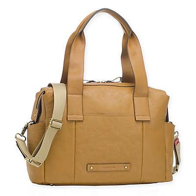Storksak® Kym Leather Diaper Bag