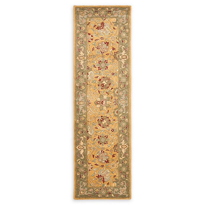 Alternate image 1 for Safavieh Antiquity 2'3 x 10' Brielle Rug in Gold