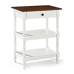 Crosley Heidi Accent Table in White