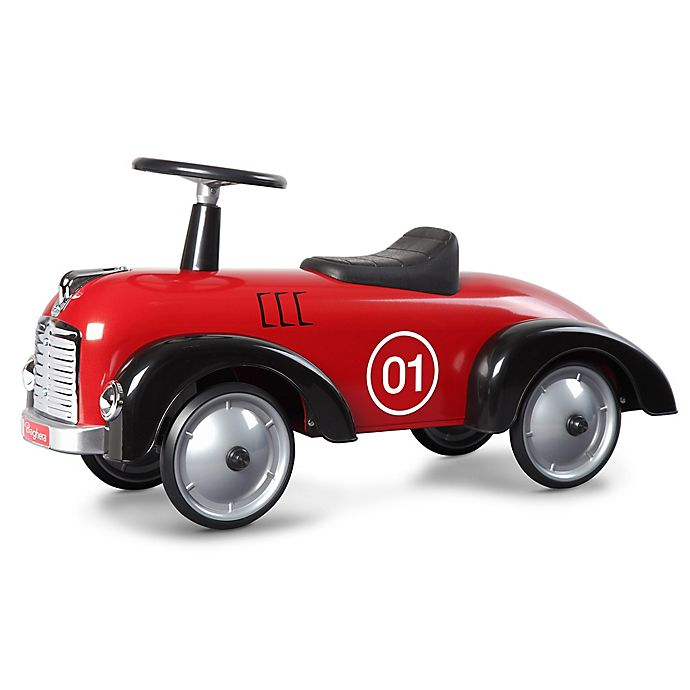 Alternate image 1 for Baghera Vintage Metal Ride-On Speedster Car