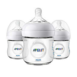 Philips Avent Natural 3-Pack 4 oz. Bottles