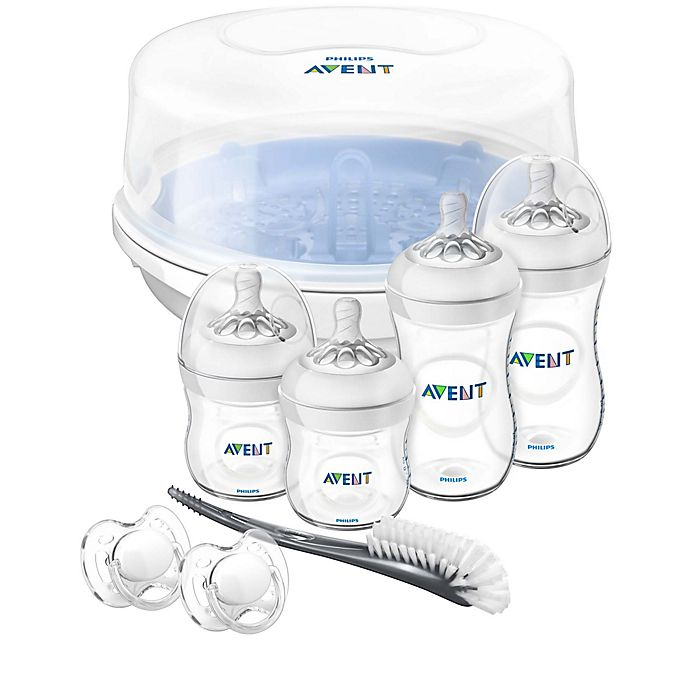 Alternate image 1 for Philips Avent Natural Baby Bottle Essentials Gift Set
