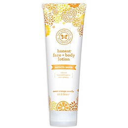 Honest 8.5 oz. Face + Body Lotion Deeply Nourishing in Sweet Orange Vanilla