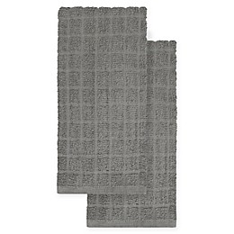 KitchenSmart® Colors 2-Pack Solid Kitchen Towels