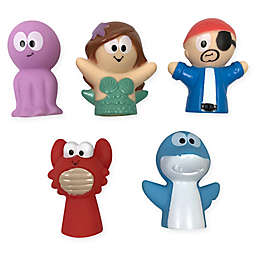 Idea Factory 5-Piece Pirate & Mermaid Finger Puppets