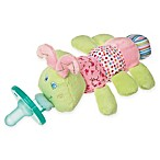 Mary Meyer WubbaNub™ Caterpillar Infant Pacifier in Pink/Green