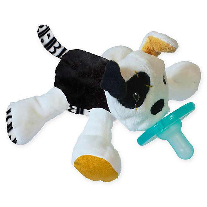 Alternate image 1 for Mary Meyer WubbaNub™ Puppy Infant Pacifier in Black/White