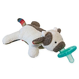 Mary Meyer WubbaNub™ Cow Infant Pacifier in Grey/White
