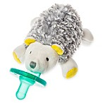 Mary Meyer WubbaNub™ Hedgehog Infant Pacifier in Grey/White