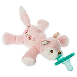 Mary Meyer WubbaNub™ Pink Fox Infant Pacifier