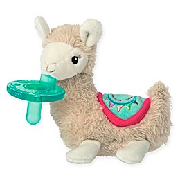 Mary Meyer® WubbaNub™ Lily Llama Pacifier in Tan/White