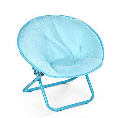 American Kids Faux Fur Saucer Chair