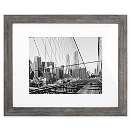 Malden® Gallery 11-Inch x 14-Inch Matted Floater Frame